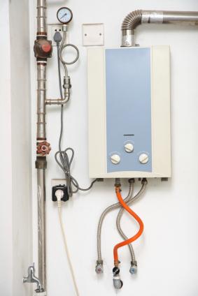 Varmvattenberedare för små utrymmen